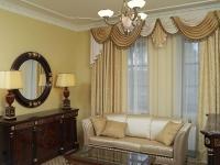 Вуалевые шторы для зала, спальни